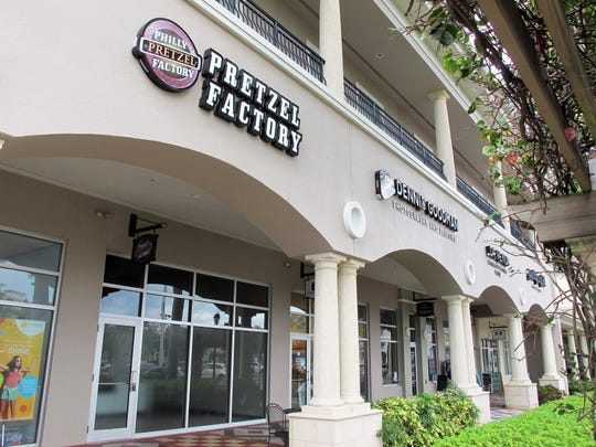 Philly Pretzel Factory permanently closed April 28 after hand-twisting fresh soft pretzels nearly three years in the Galleria Shoppes at Vanderbilt in North Naples.
