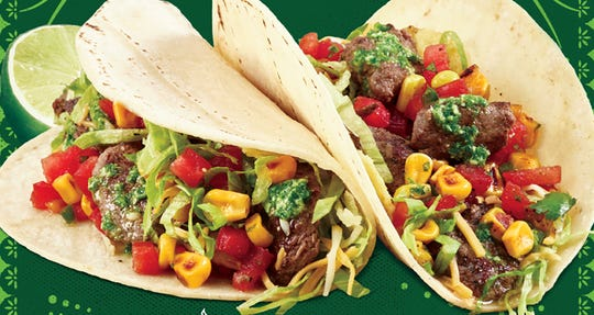 Tijuana Flats locations are featuring chimichurri steak tacos for a limited time from May 13 through July 7.