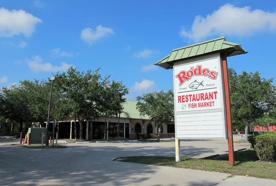 Rodes Fresh & Fancy Restaurant & Fish Market closed Friday, May 10, 2019, after operating more than 30 years in Bonita Springs.