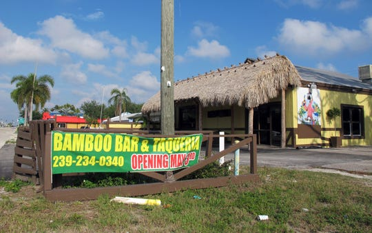 Bamboo Bar & Taqueria recently replaced El Meson Latin Cuisine Bar & Grill, which closed in April 2019 after operating only four months on Bonita Beach Road in Bonita Springs.