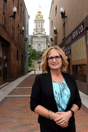 Jennifer McDonald, President & CEO of the Licking County Chamber of Commerce, grew up in Heath and has spent her career promoting Licking County, formerly through the Licking County Convention and Visitors Bureau and then with the chamber.