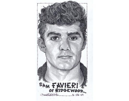 Sam Favieri, Ridgewood baseball