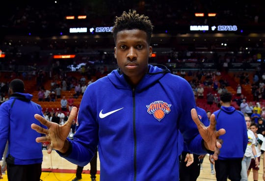 New York Knicks guard Frank Ntilikina had his fourth-year option picked up on Monday.