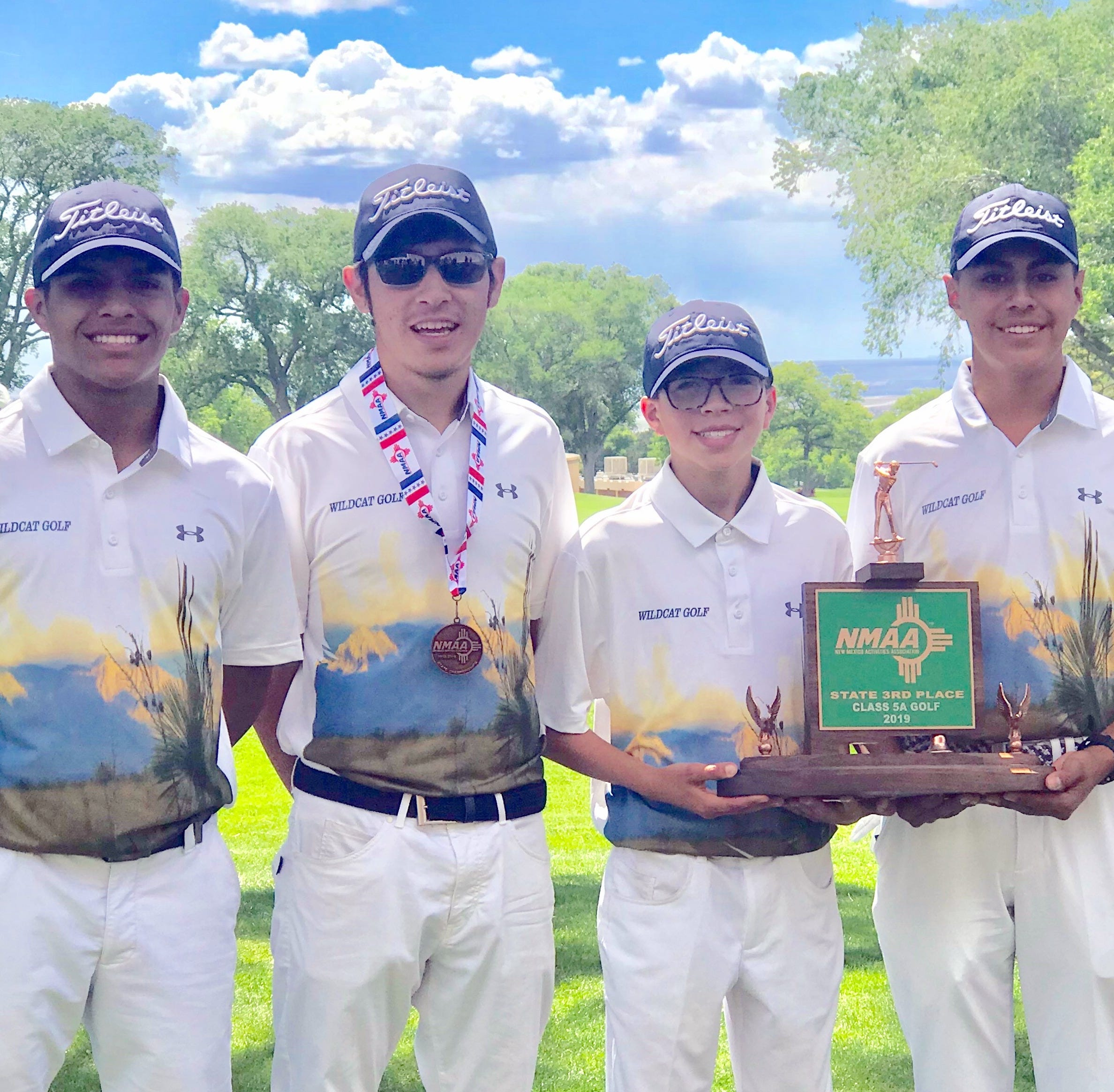 Deming High golf teams bring home green trophies from New Mexico Class 5A state tournament