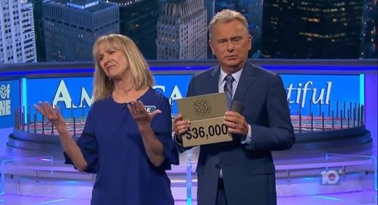 "Rae Wilson finding out she didn't take home the $36,000 in the bonus round of ""Wheel of Fortune."" She still walked away with $26,500 and a trip to Maui, Hawaii."