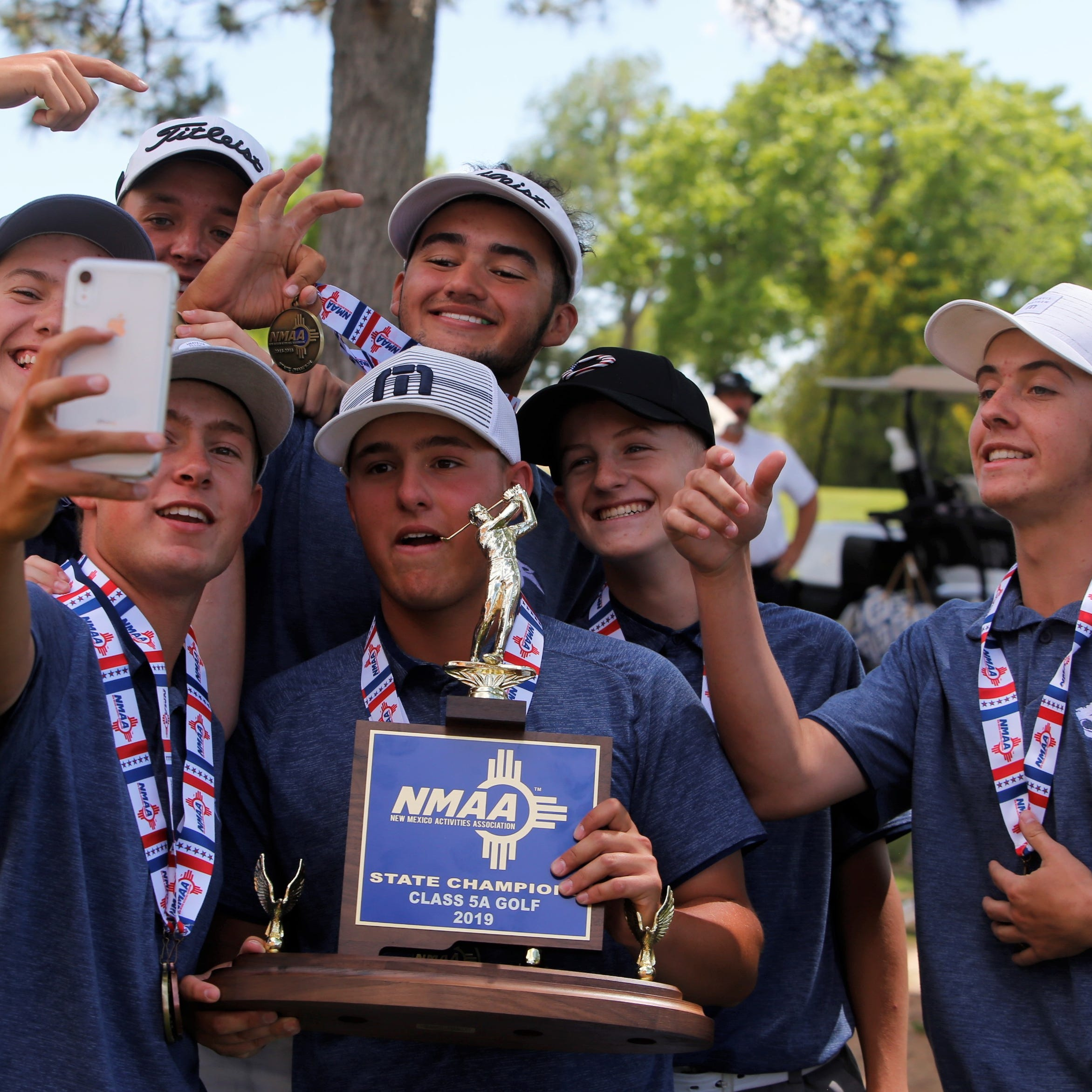 PV boys repeat as state golf champs