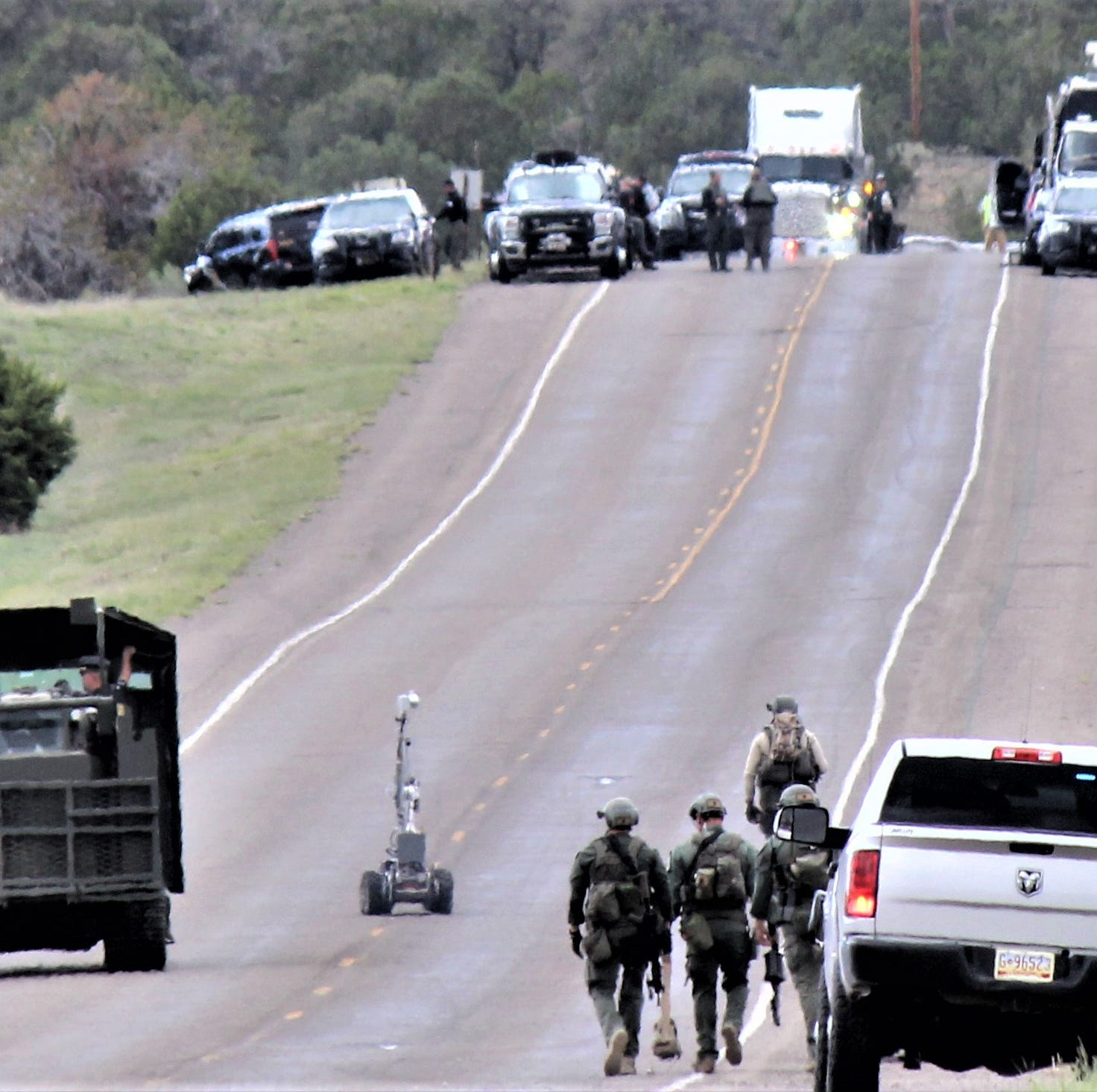 Lincoln County Sheriff: Standoff ends in arrest