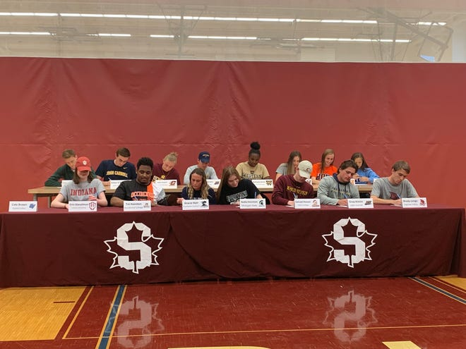 Seaholm High School is sending 16 student-athletes to the college level.
