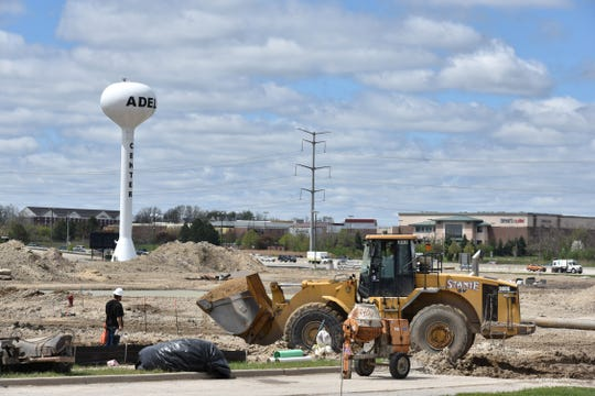Novi's Adell Center site on May 10, 2019.
