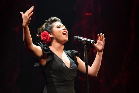Kayley Serrano performed at the Cinco de Mayo festival in La Quinta, 2019.