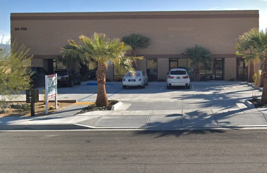 A search warrant was executed at 34-750 Spyder Circle in Palm Desert on May 14, 2019. Drug Enforcement Administration officials declined to say what was included in the warrant.