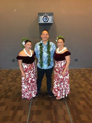 Kawika Alfiche and his group Hālau o Keikiali`i will be teaching Hawaiian dance and sharing Hawaiian music at the Step By Step Dance Studio on Oct. 7, 2019.