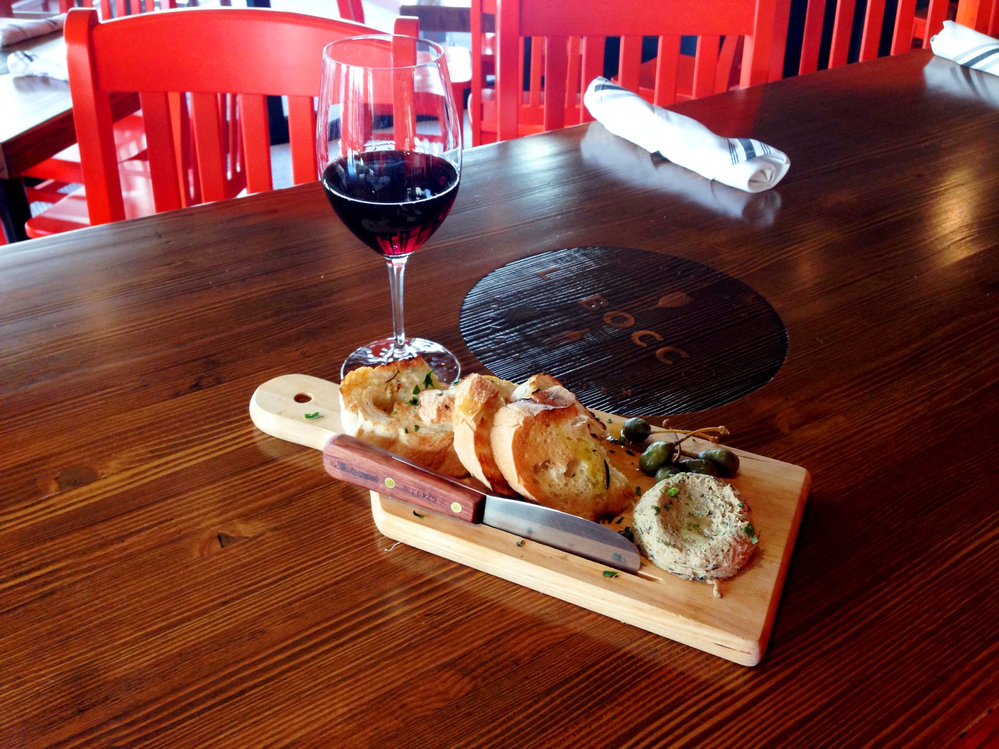 La Bocca Wine Bar & Urban Kitchen on High Street in North Phoenix
