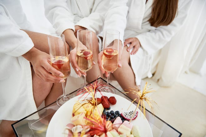 Sparkling wine brings the bubbly to any event.