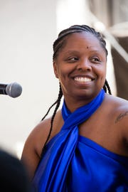 Patrisse Cullors at FORM Arcosanti