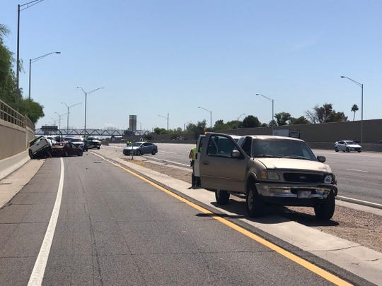 A man is dead after a fatal crash on U.S. 60 near McClintock Drive on May 14, 2019.
