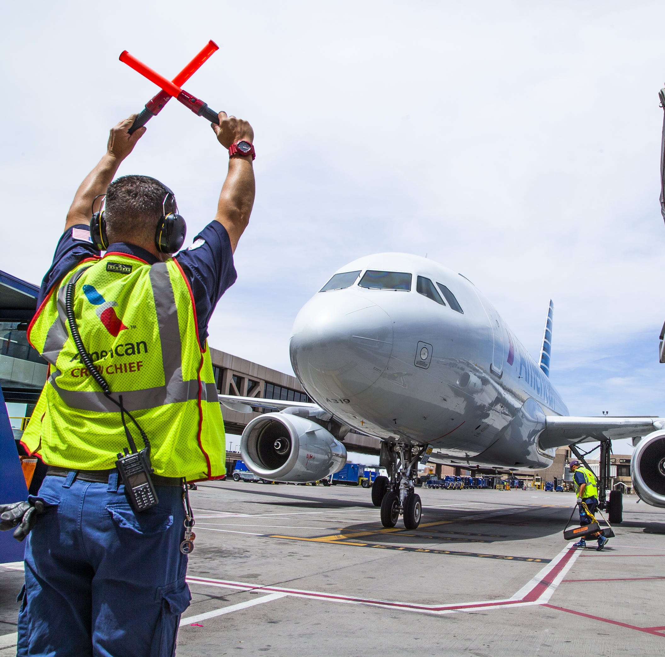 What does it take to get a plane ready between flights? American Airlines shows us
