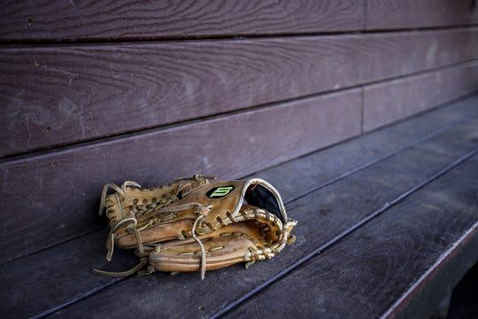 High school baseball scenic art.