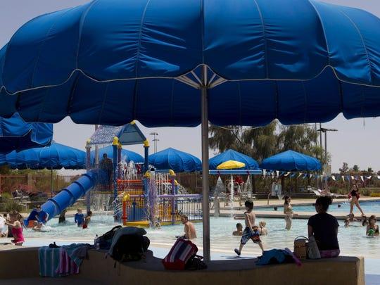 Eldorado Aquatic Center en Scottsdale.