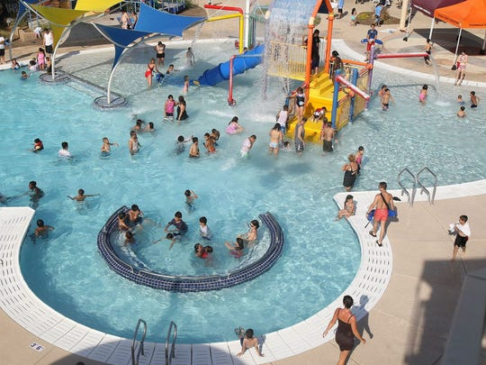 Rose Lane Aquatic Center en Glendale.