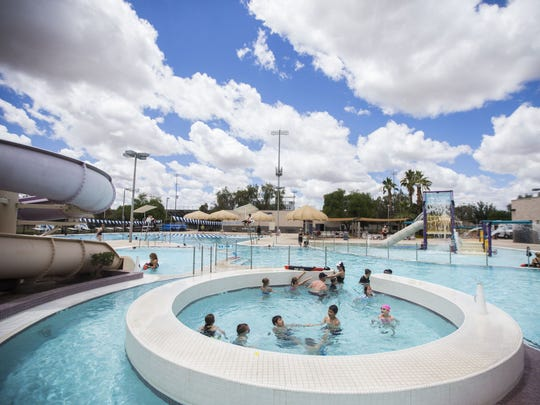 Hamilton Aquatic Center en Chandler.