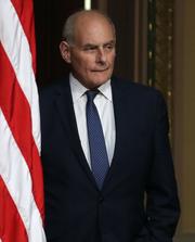 John Kelly, jefe de despacho de la Casa Blanca.