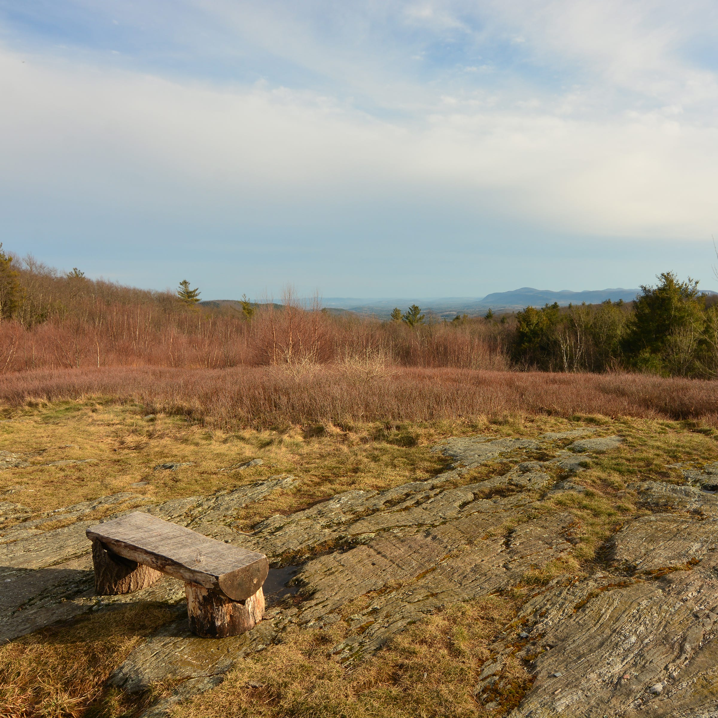 Moderate hike up Harvey Mountain rewards with view of South Taconic Range