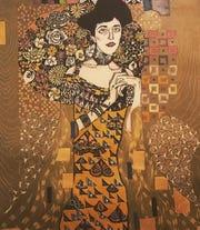 Melissa Schlobohm creates woodblock prints at her studio, Fledgling Press, in Beacon.