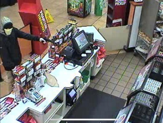 This is one of two suspects in an armed robbery of Sheetz 3299 Ritner Highway, West Pennsboro Township.