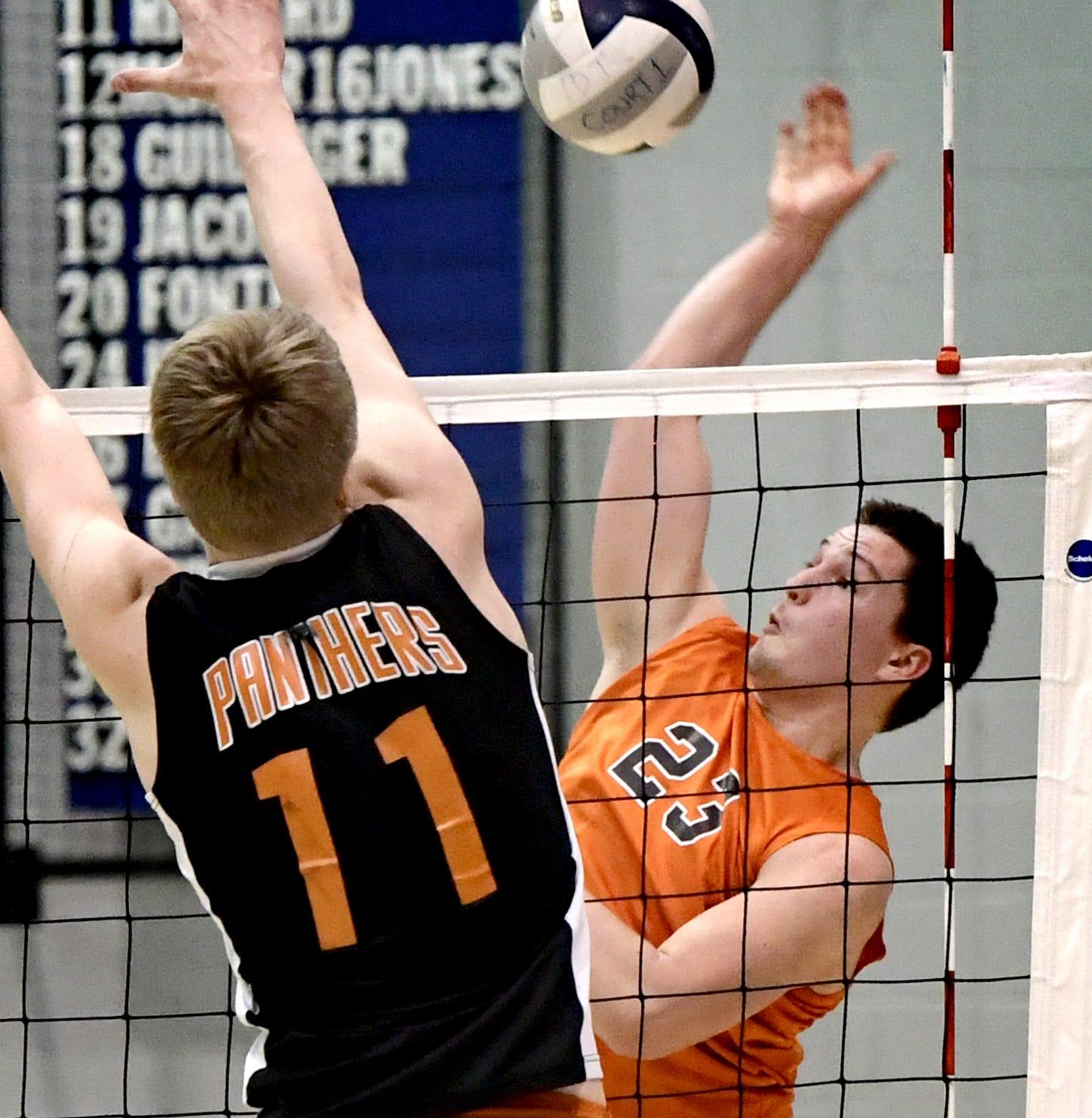 Northeastern boys win thriller vs. Central York, earn York-Adams volleyball playoff crown