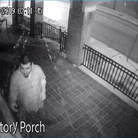 York City Police ask for help in identifying church vandalism suspect