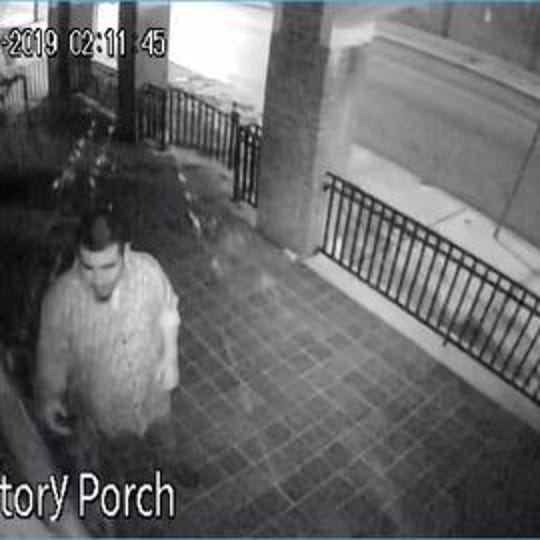 York City Police are hoping to identify this man, who damaged a city church recently,