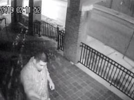 A man who vandalized a church in the City of York.