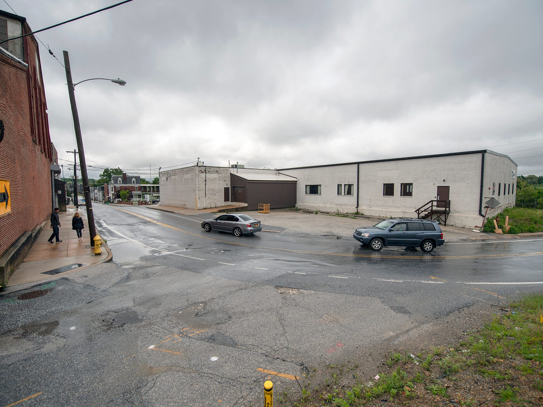 Looking west on Arch Street where it intersects with Loucks Mill Road. Metso Corp. closed down its manufacturing facility in York in 2016, but the old buildings along Arch Street may have new life soon.