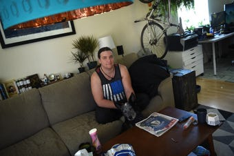 Reno renter Brooke Noble talks about rent increases and eviction.