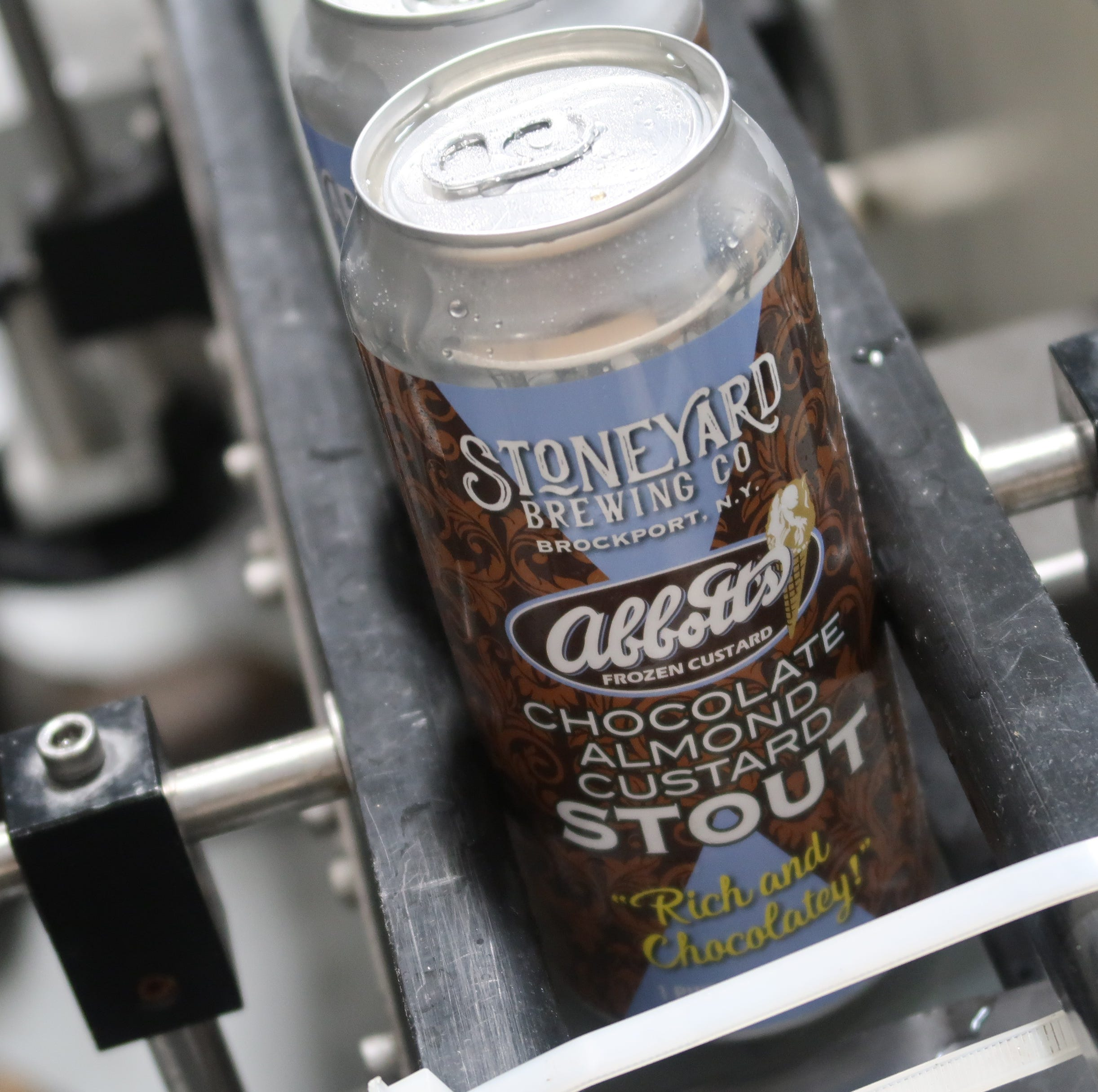 Can't lick this: Abbott's and Stoneyard Brewing combine for Chocolate Almond Custard Stout