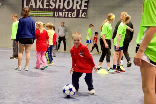 The TOPSoccer Skills Clinic was the first of its kind in Sheboygan.