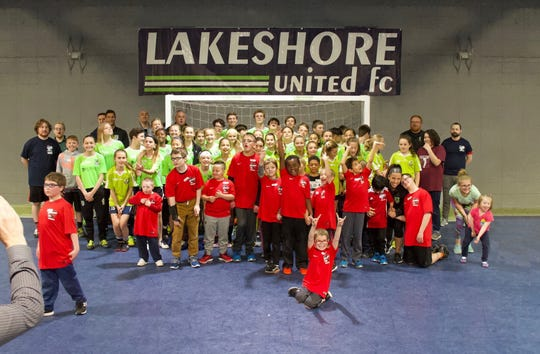 Lakeshore United FC hosted a soccer clinic for kids with special needs in Sheboygan.