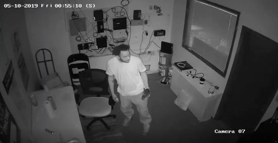 The Shreveport Police Department is looking for information regarding the identity of a suspect of a business burglary that occurred on May 10 in the 6700 block of Pines Road.