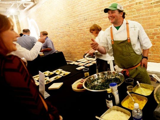 Jason Brady, owner of Wine Country Bistro, will host his annual Wine & Swine Festival on May 19.