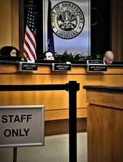 Shreveport City Council administrative work session May 14.
