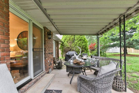 With the interior complete, Marilyn says she may turn her attention to the outdoor living area. She's not happy with the awning and ready to give it a makeover — or replace it altogether.