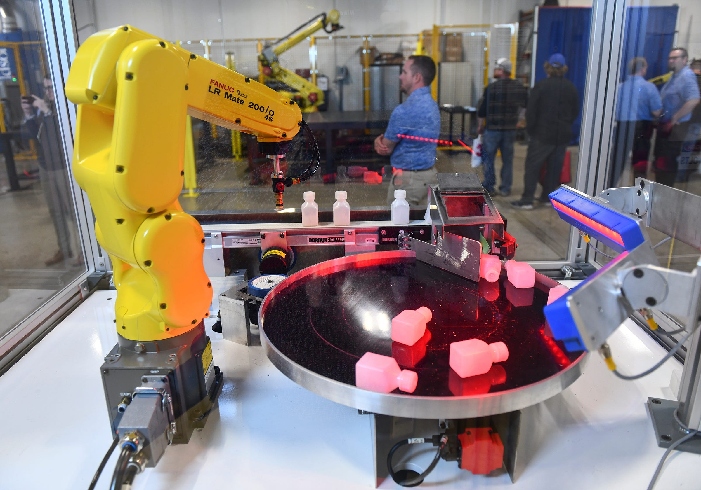 Central McGowan showcases capabilities of robotic automation