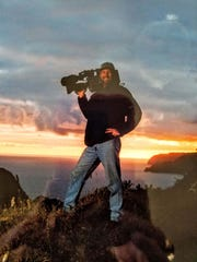 Tigger Gray was on a 10-day shoot in the Chatham Islands to capture the first light of the new millennium in 2000.