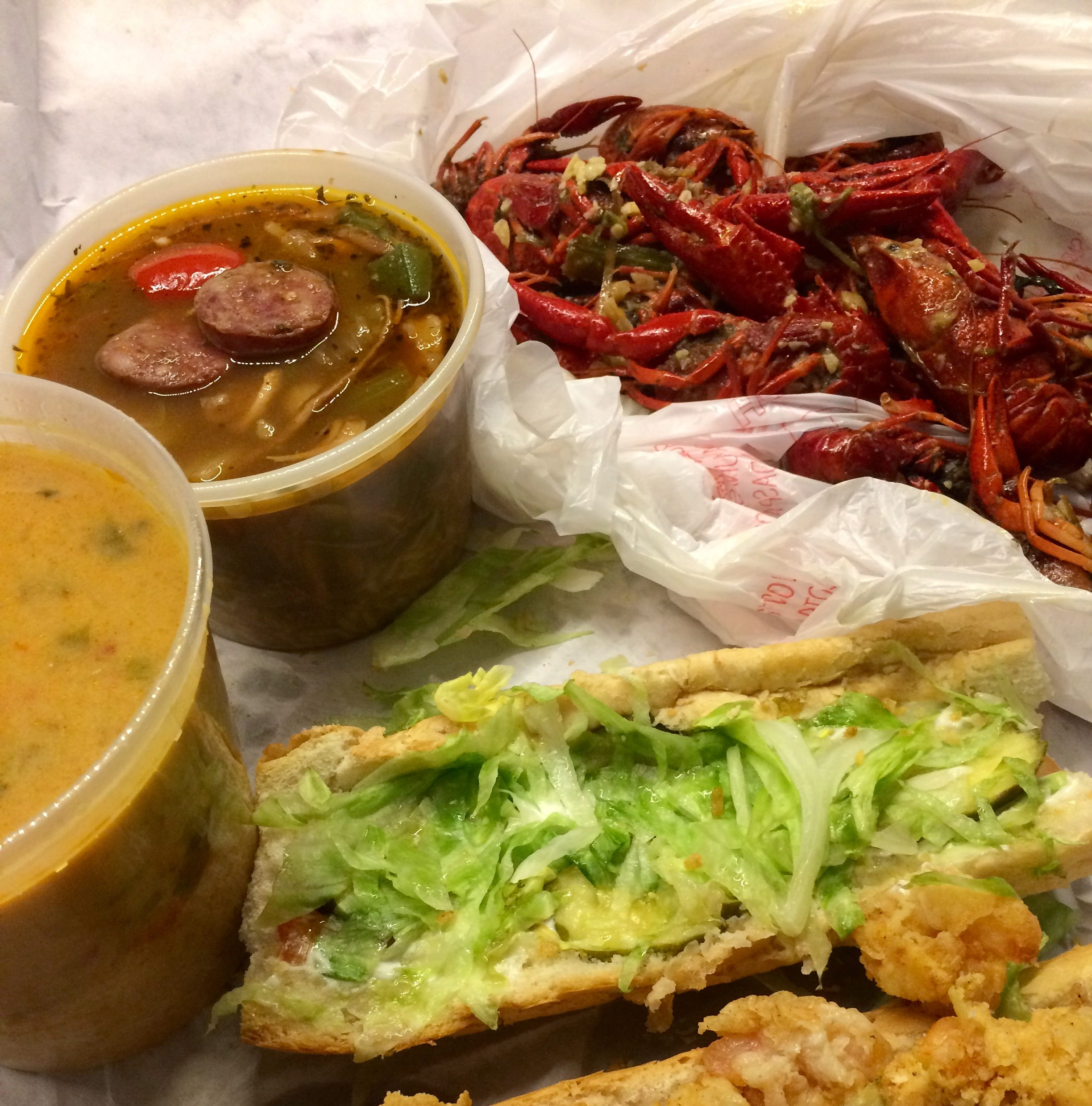 Crawfish, gumbo get raves at New Orleans Seafood