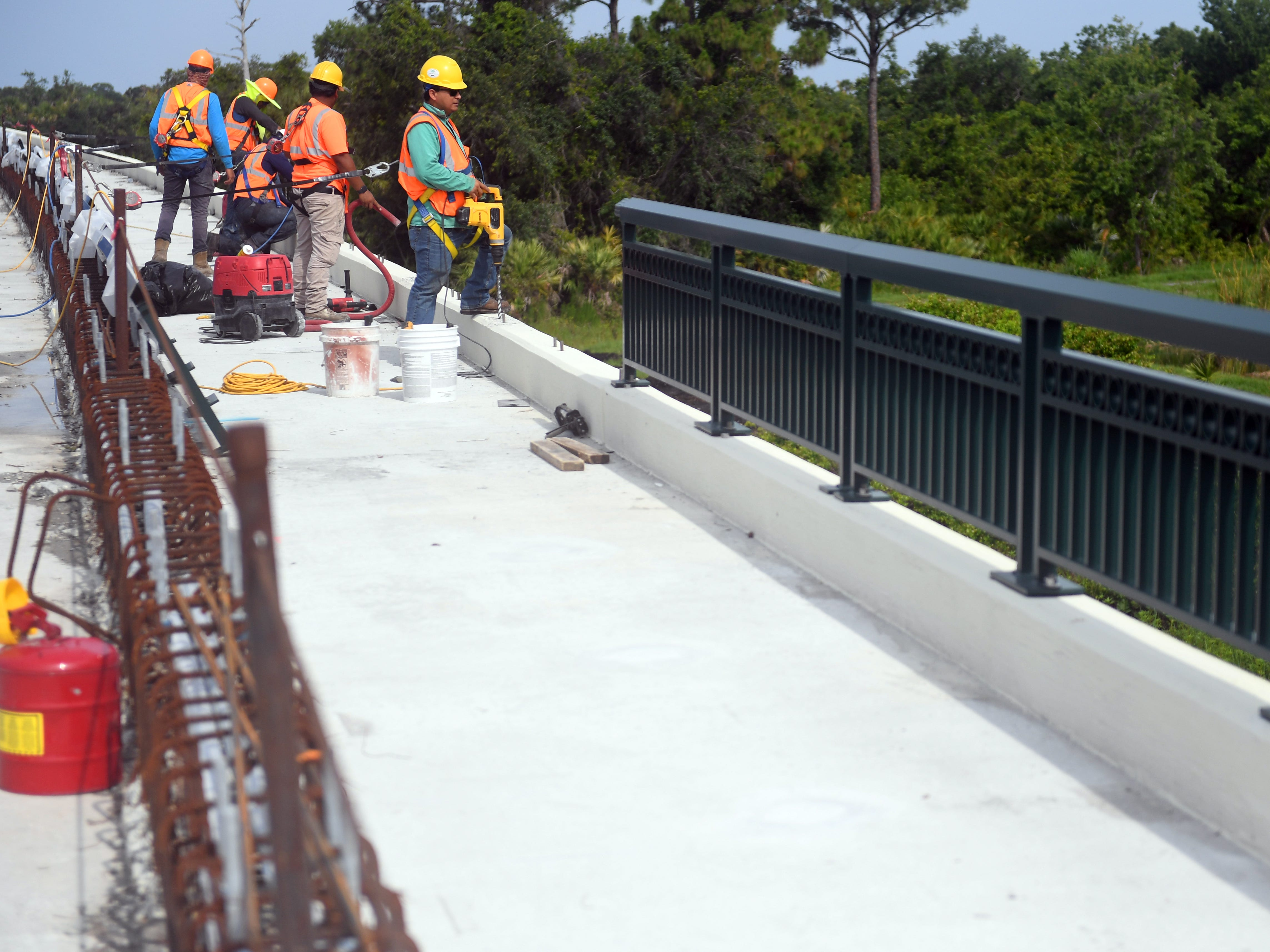 Construction on the Crosstown Parkway bridge is nearing completion and is slated to open to the public on Sept. 28. The City of Port St. Lucie is planning a community block party to celebrate the event.