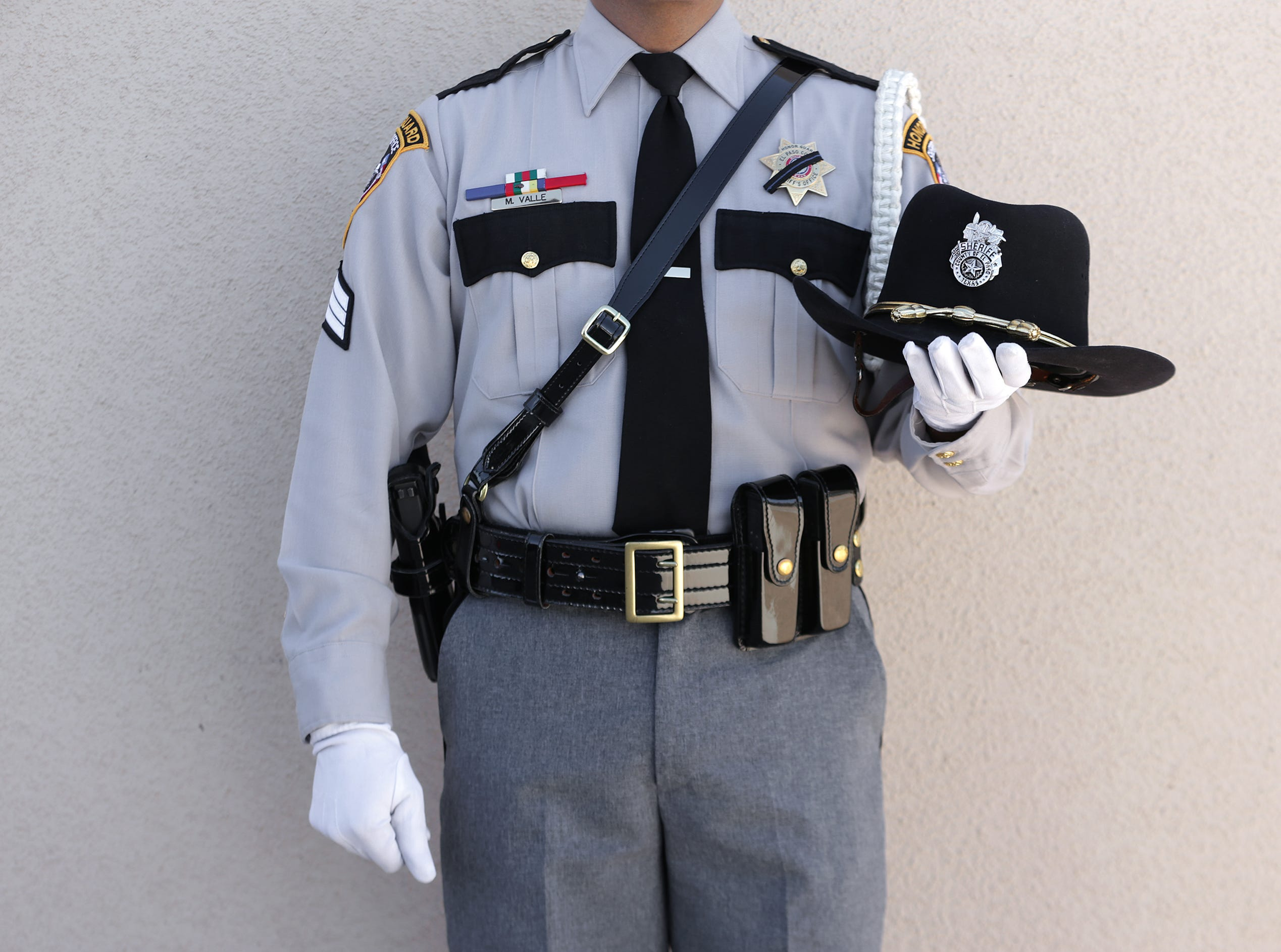 The El Paso County Sheriff's Office held their annual memorial Tuesday at their headquarters in east El Paso. Dep. Peter Herrera was added to the memorial this year after he was shot and killed during a traffic stop in San Elizario.