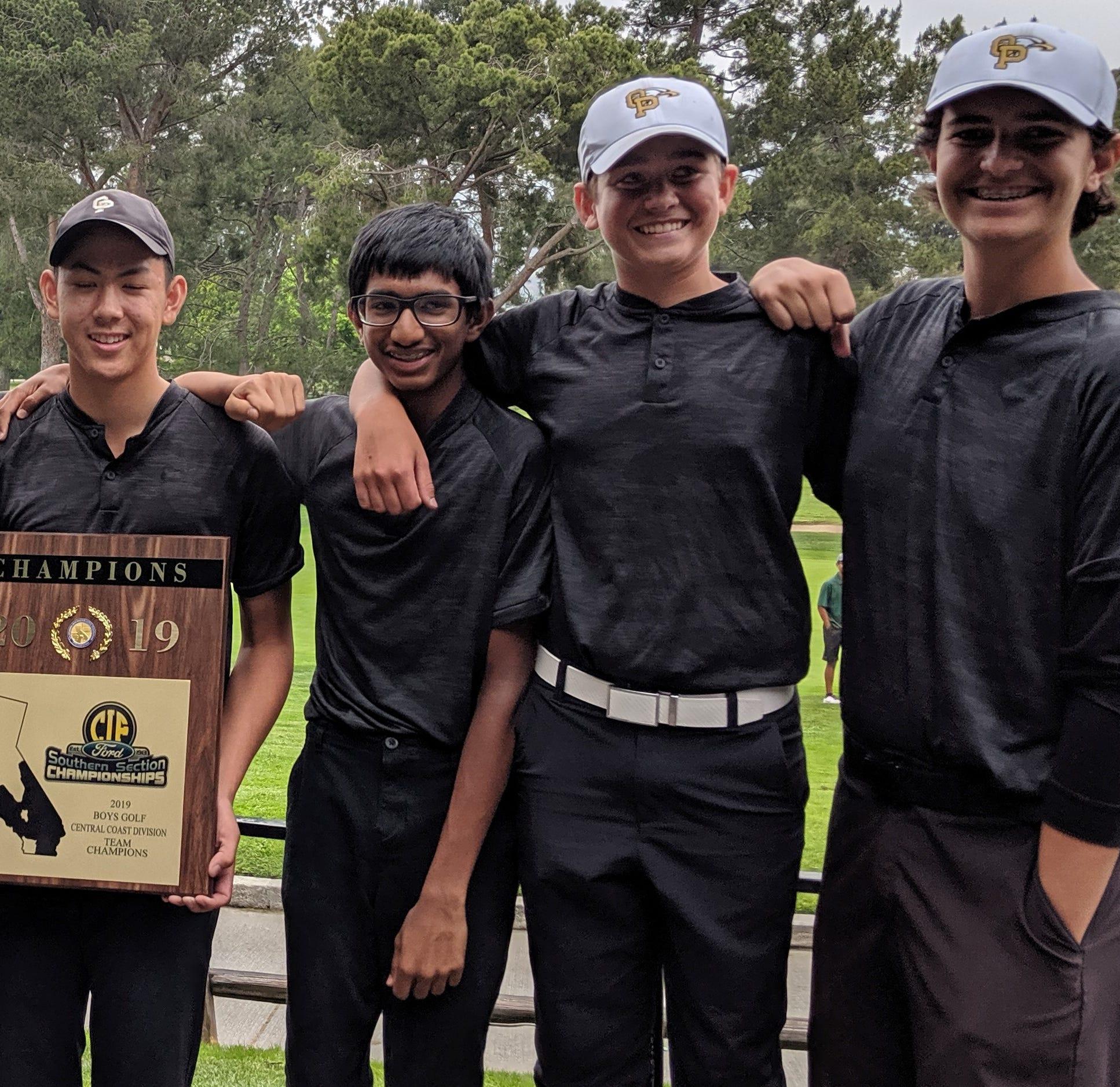 Oak Park boys golf team wins CIF Central Coast championship