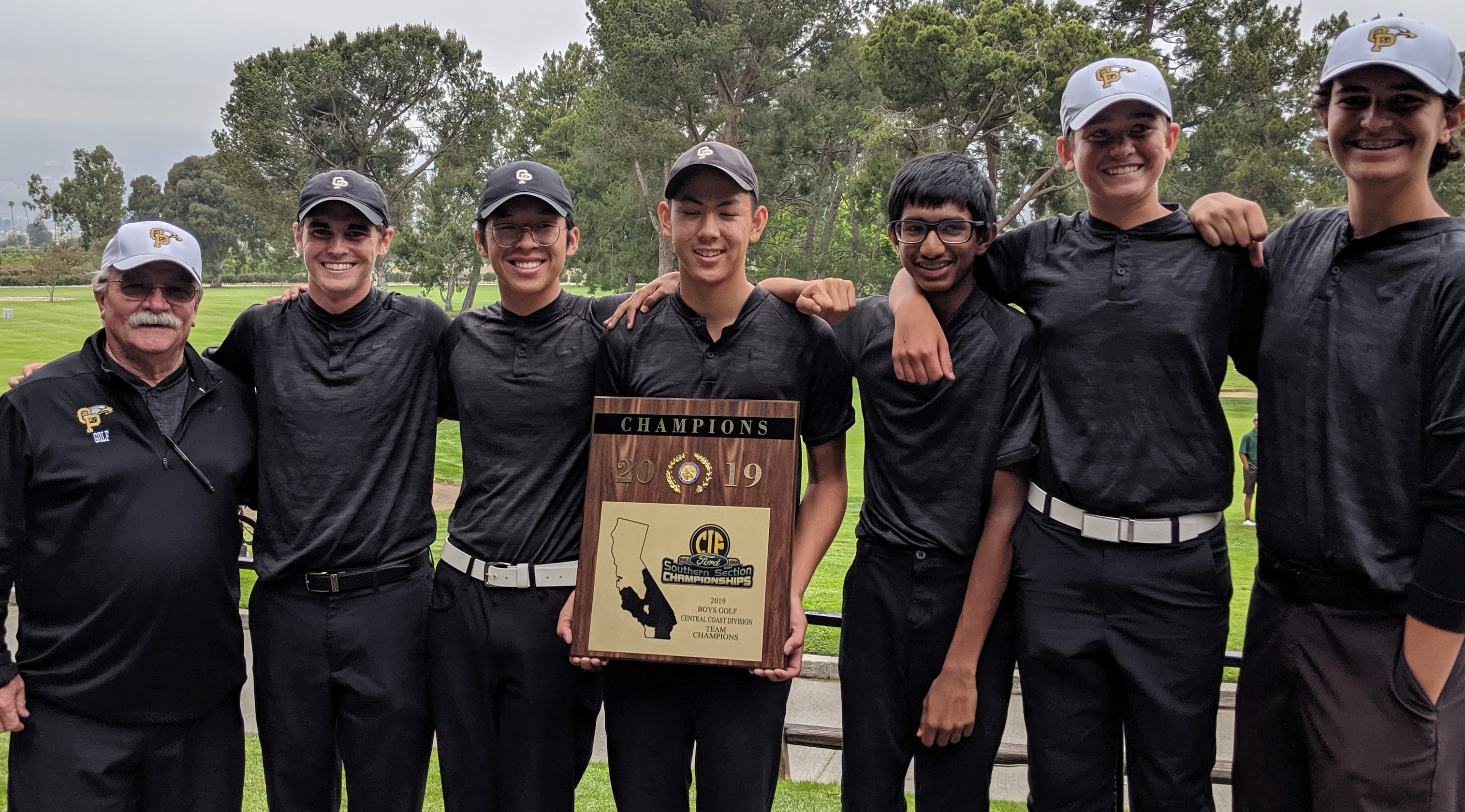 Oak Park Boys Golf Team Wins CIF Central Coast Championship
