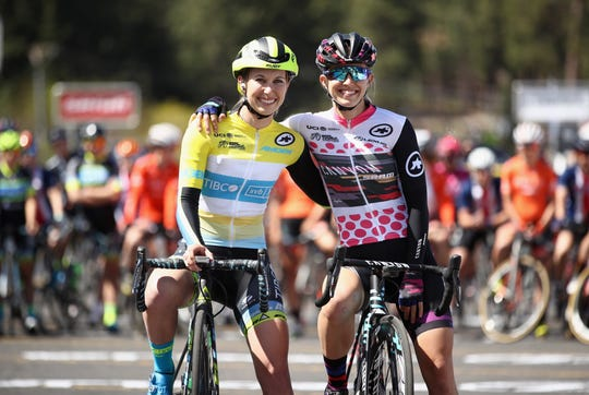 Sisters Kendall and Alexis Ryan, of Ventura, will both compete in the Women's Tour of California in their hometown on Thursday